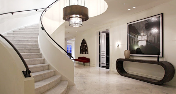 Marble Floor Staircase