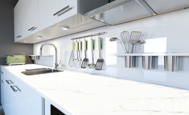Quartz worktops Surrey
