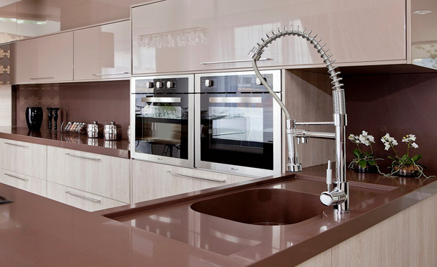 Quartz worktops Hampshire picture