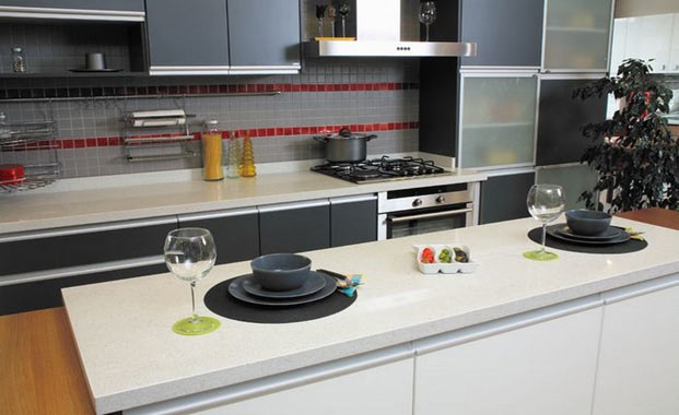 Quartz worktops London